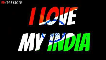 I love india Happy Independence Day 2021 Status